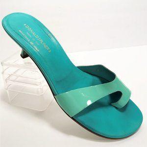 Donald J Pliner ' Veda ' Aqua Slide Heel Sandals